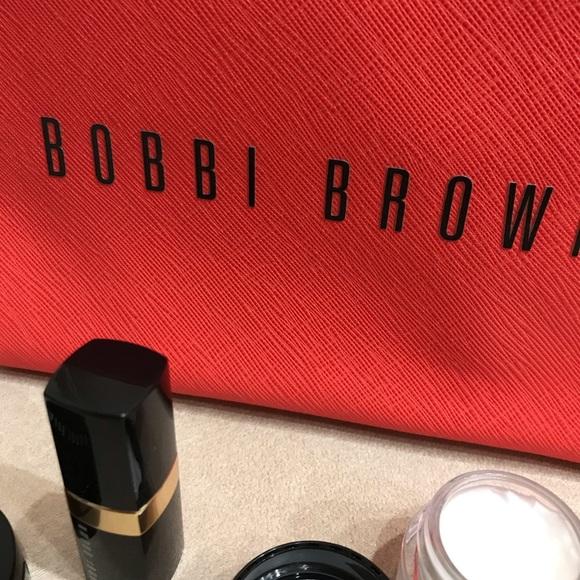 Bobbi Brown Handbags - Bobbi Brown Cosmetic Bag Pouch Case Pink Red